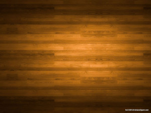 Wood Background With Lighting