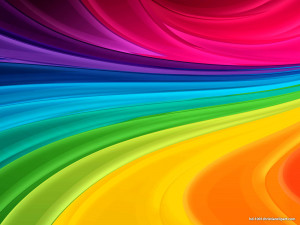 Modern Rainbow Microsoft Powerpoint