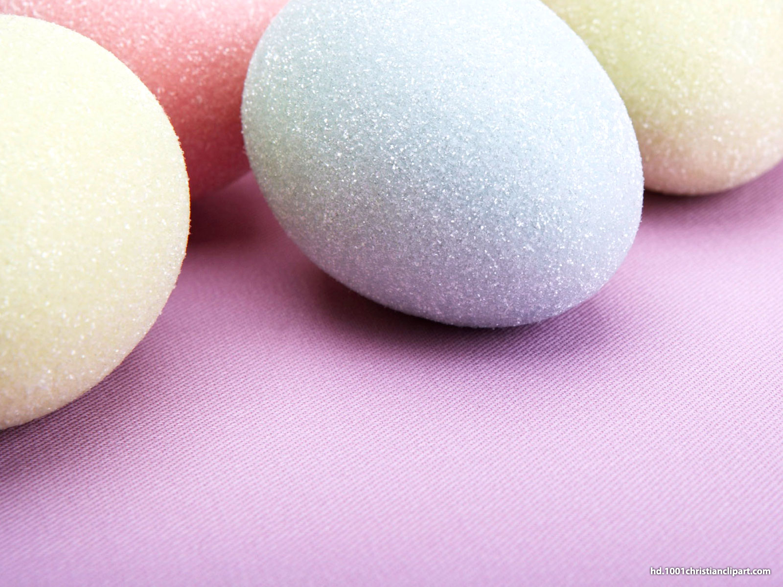 Easter Egg Background For PowerPoint