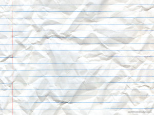 Line White Paper Background PowerPoint