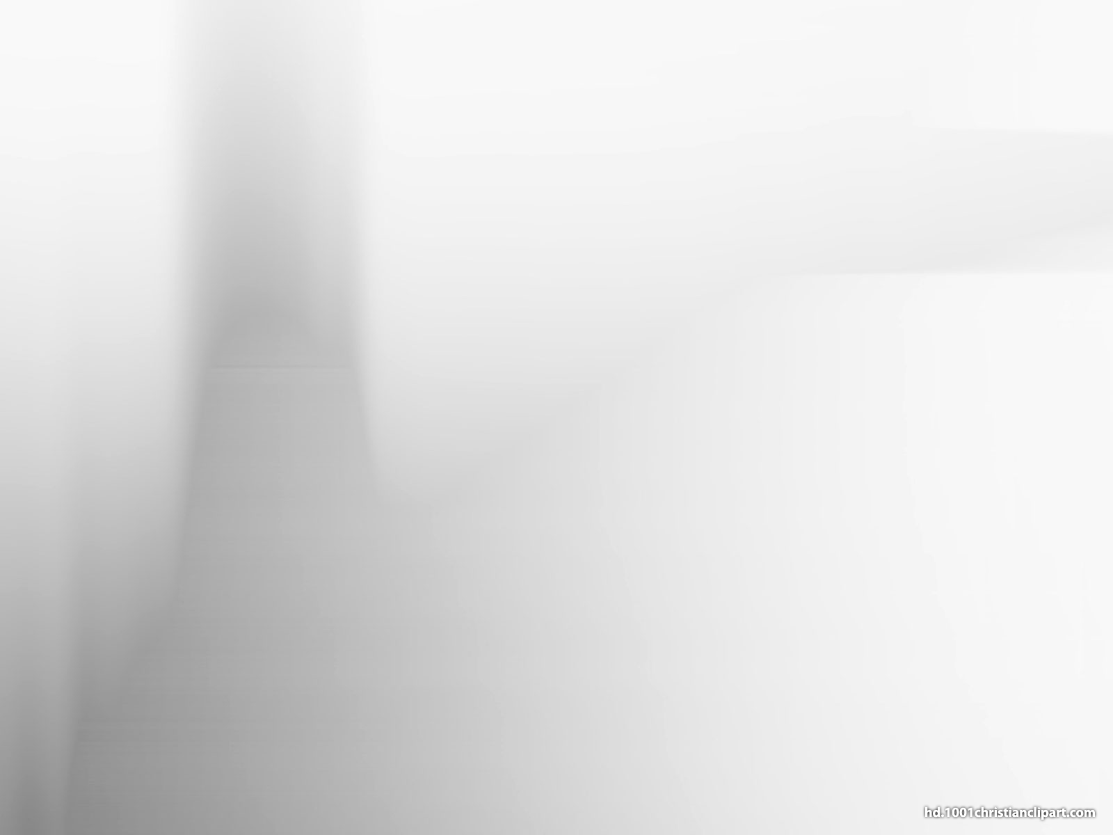 White Fog PowerPoint Background
