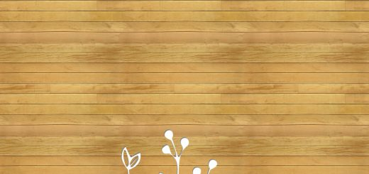 flower and wood background
