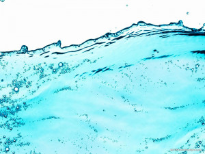 HDR Clean Blue Water Powerpoint Background