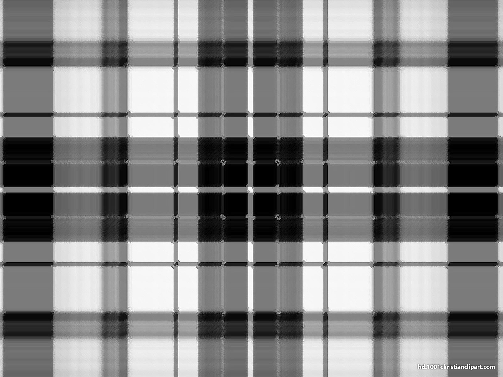 Black And White Plaid Background for PowerPoint