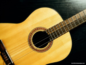 Guitar HD PowerPoint Background